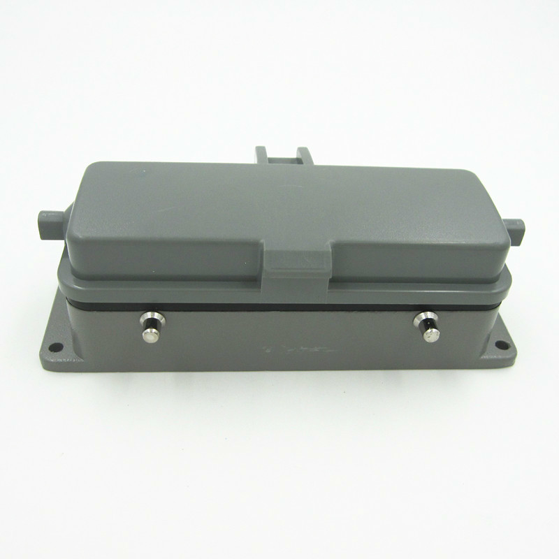 HDC-HE-024 Down Shell Bring Cover Heavy Load Connector 24 The Core Of Public Insert 16A Plug Shuangkou<br>