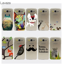 Lavaza Cartoon Lovely Dog Squirrel ZEBRA Hard Case for Samsung Galaxy A3 A5 J3 J5 J7 2015 2016 Note 5 4 3 2 Grand 2 J3 J5 Prime(China)