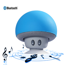 Cute Mushroom Bluetooth Speaker Wireless Portable Speakers Mini Hand Speaker Bluetooth for Mobile Phone PC Tablet(China)
