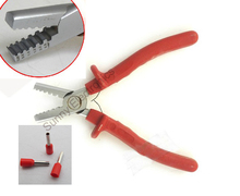 Mini Small Cable End-Sleeves Ferrules Crimping Tool Crimper plier 1.5-6mm2(China)