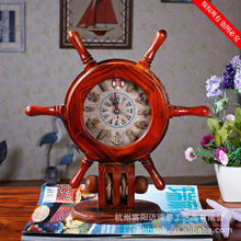The pendulum clock craft wooden watch pendulum ornaments utility DS2930-A/C/D/E Home Furnishing helmsman