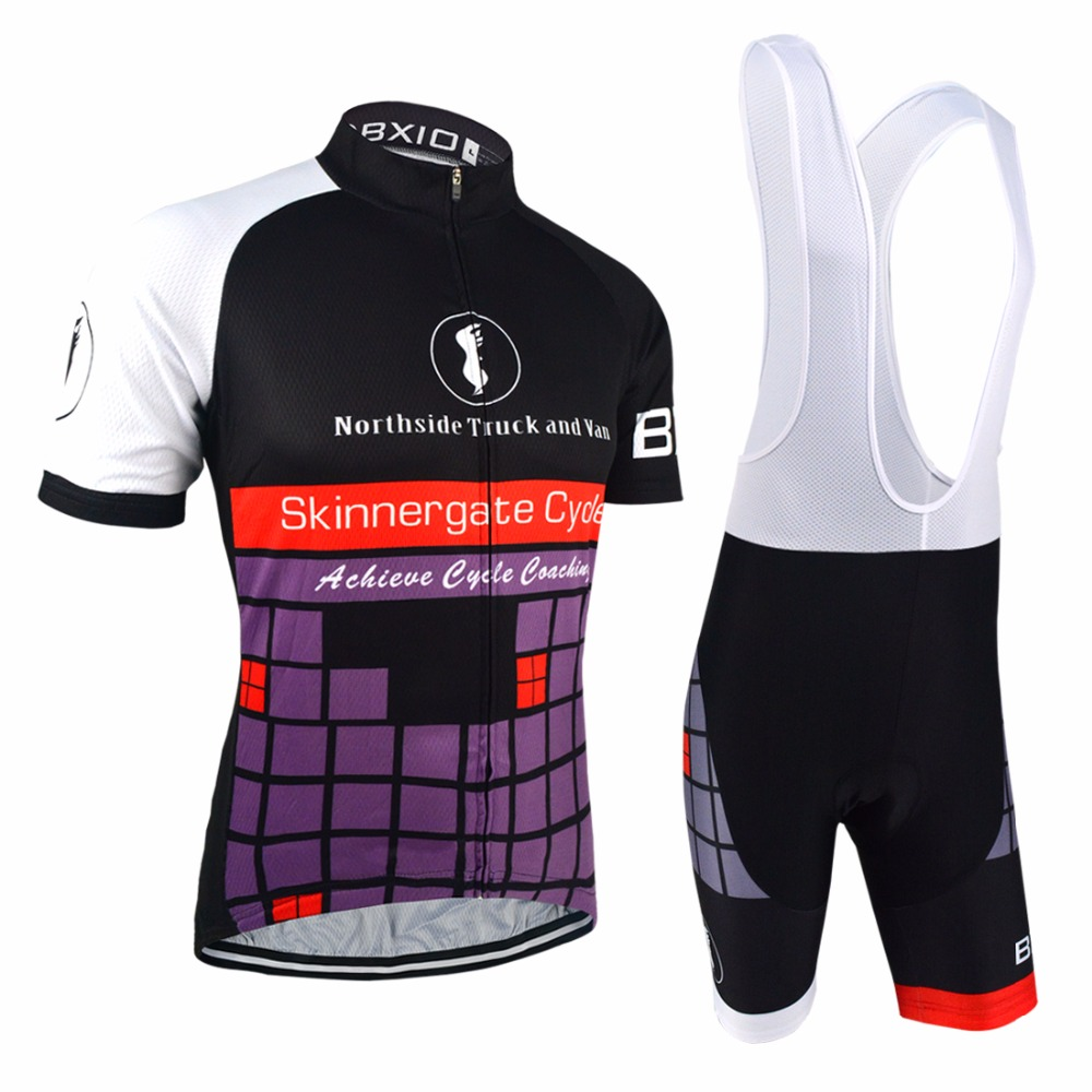 Bxio Cycling Sets Purple Cycling Clothing Cool Road Bike Jersey Short Sleeve Cycle Kits Ropa De Ciclismo Team Bike Clothes 046<br><br>Aliexpress