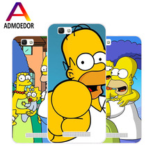 ZTE blade a610 Case,Silicon Popular Cartoon Painting Soft TPU IMD Back Cover for zte blade a610 Transparent Phone Bags(China)