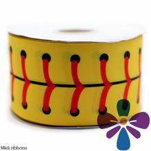"3"" 75mm Shoelace Printed Grosgrain Ribbon DIY Handmade Hair Accessories Clothing Webbing 50 Yards MD1501208-22-2955D"