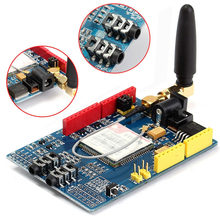 SIM900 850/900/1800/1900 MHz GPRS/GSM Development Board Module Kit For Arduino  85 x 55 x 15mm Module