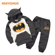 2017 New Children Outfits Tracksuit Fashion Clothing Children Hoodies + Kids Pants 2 pcs kids Sport Suit Boys Clothing Set