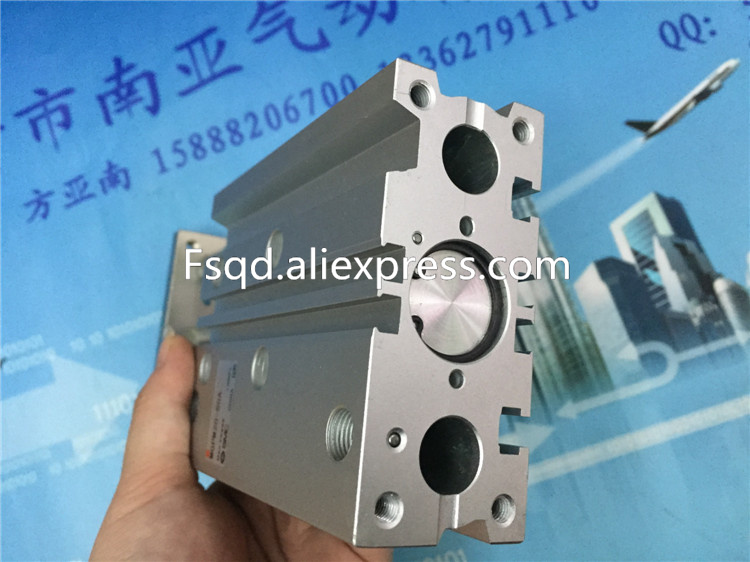 MGPM20-30A MGPM20-40A MGPM20-50A  SMC compact guide cylinder Thin Three-axis cylinder with rod cylinder MGPM series<br>