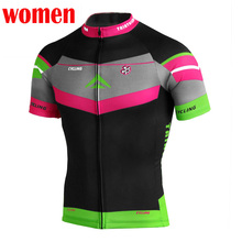 2017 New Cycling Jersey Bike Short Sleeve Top Shirt Clothing Bicycle Sportwear ciclismo Jersey Women's Quick Dry