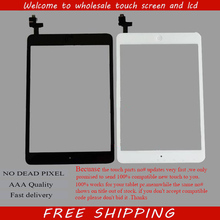 Original Screen Digitizer for ipad mini A1455 A1432 A1454 A1489 A1490 screen with IC Connectore & home button Flex Replacement