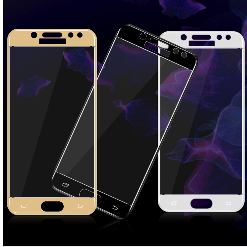 3D Curved Full Screen Coverage Tempered Glass For Samsung Galaxy J3 17 J5 17 J7 J330 J530 J730 17 Screen Protector Film 2