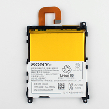 Original Sony LIS1501ERPC Battery For SONY Xperia Z1 C6902 C6903 L39h 3000mAh(China)