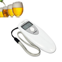 Portable Digital Alcohol Breath Tester Professional Breathalyzer Alcohol Meter Analyzer Detector With Mini LCD Display(China)