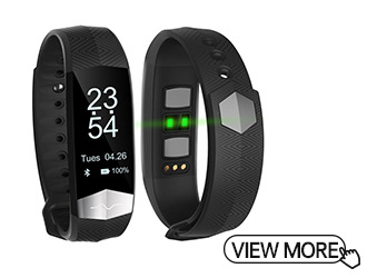 ECG PPG Smart Bracelet With Blood Pressure