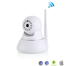 2017 New Wireless wifi IP Camera 720P PTZ remote control Pan/TILT two way audio Motion detection ir night vision TF Card storage