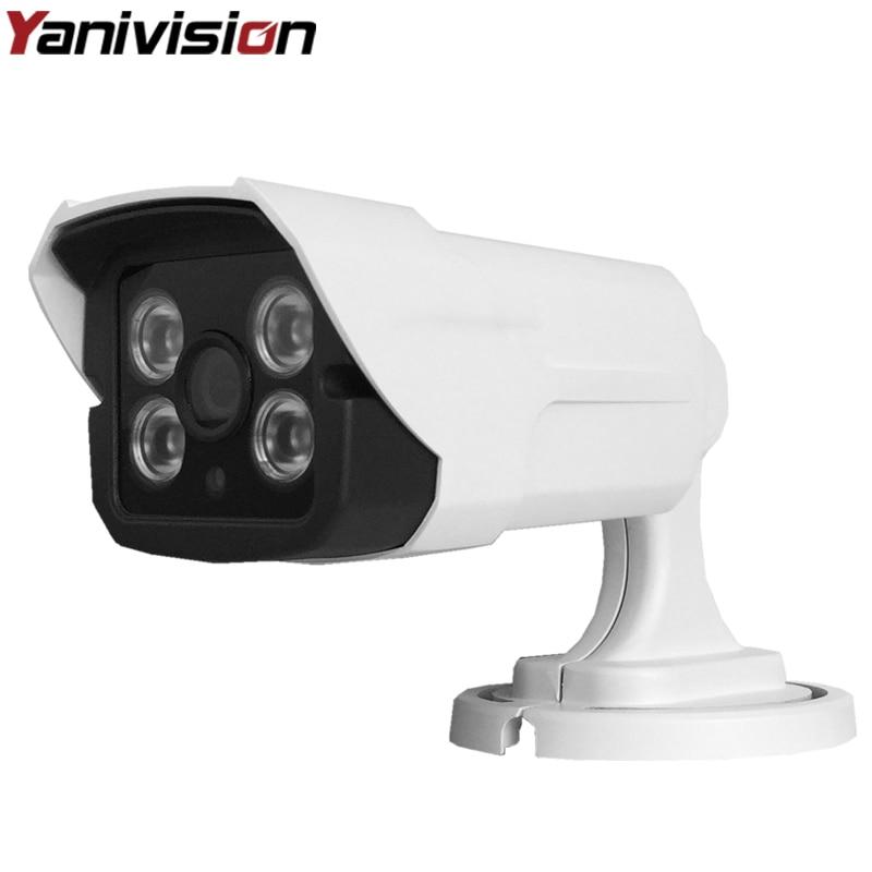 H.265 IP Camera 5MP IMX326 4MP OV4689 2MP IMX323 Sensor HI3516D DC 12V 48V PoE Optional ONVIF Bullet Outdoor CCTV Camera<br>