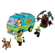 2017 NEW  10430 Compatible Scooby Doo The Mystery Machine 75902 Building Block Model Educational Toys For Children