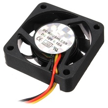 3Pin 40*40*10mm Durable DC 12V Internal Desktop Computer CPU Case Cooling Cooler Silent Fan 4cm