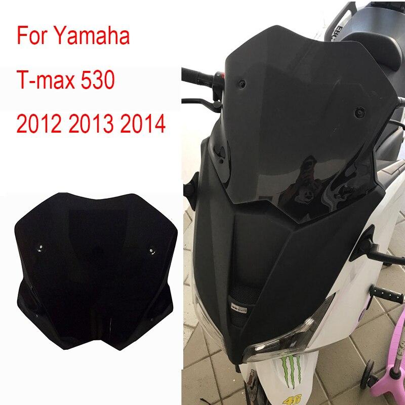 TMAX 530 2012 2013 2014 Windscreen Windshield Deflectors For Yamaha T-max 530 2012 2013 2014 Tmax 530 Tmax530 T-MAX 530<br>