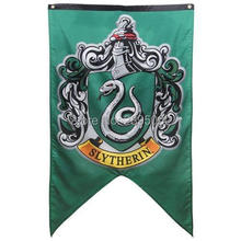 Harry Potter Saga Licensed XL 50 HOGWART BANNER Flag Polyester grommets 3' x 5' Custom metal holes Hockey Baseball Football Flag(China)