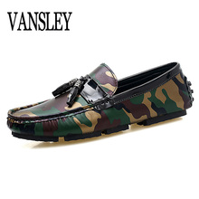Buy Men Loafers Shoes Italy Oxfords Business Dress Camouflage Boat Summer Autumn Shoes Formal Oxford Shoes Men Flat Shoes Wedding for $22.68 in AliExpress store