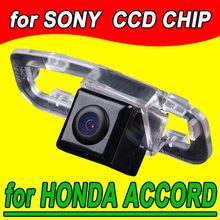 Navinio Car rear view Camera for Honda Accord 2011 back up reverse parking for GPS DVBT radio free shipping NTSC 170 degree(China)