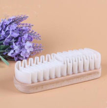 White Rubber Crepe Shoe Brush Leather Brush for Suede Boots Bags Scrubber Cleaner Free Shipping