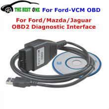 2016 Newest Focom For Ford VCM OBD Cable OBD2 Diagnostic Interface For Ford/Mazda/Jaguar Mini Type Of For Ford VCM IDS Scan Tool