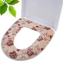 Fyjafon Winter Toilet Seat Warmer Coral fleece Thicken Toilet Seat Cover Soft Comfortable Overcoat Toilet Case(China)