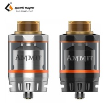 Original Geekvape Ammit Dual Coil RTA Electronic Cigarette Rebuildable Dripping Atomizer Ammit Tank RDTA 3ml/6ml