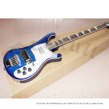 OEM Electric Guitar Rickenback 4003 bass guitar midnight blue 4 string ricken bass electric guitar / rickenback hard case