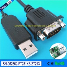 win10 android mac ft231x ftdi usb rs232 serial db9 vcp adapter cable(China)
