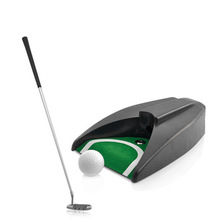 Golf  Auto Return System Putt Golfing Training Golf Ball Kick Back Automatic Return Putting Cup Device