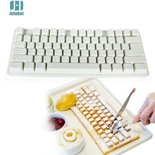 3D Silicone mold Mini Keyboard Shape Chocolate Mold Fondant Cake mould Baking mold Silicone Mold(China)