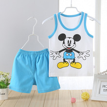 Cartoon Mickey Children's Clothing Sets Kids boys Tshirt Pants Newborn Baby Boys Clothes Set Cotton Roupa Bebes Boy Suits