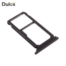 DULCII for Huawei P10 Plus P10Plus OEM SIM Card Tray Holder Slot Mobile Cell Phone Replace Part Smartphone Repair(China)