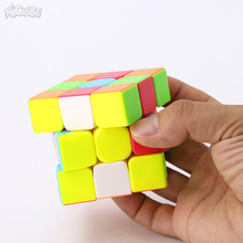 Micube 3x3x3 WarriorW QiYi Magic Cube Speed Puzzle 56mm Competition Cubes Toys For Children Kids cubo WCA Championship