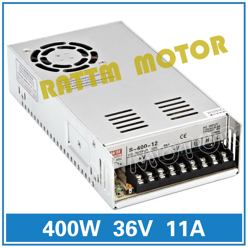 400W 36V Switch Power Supply! CNC Router  Single Output Power Supply 400W 36V Foaming Mill Cut Laser Engraver Plasma<br>