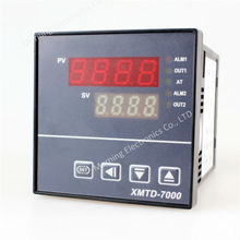 XMT7000, XMTD7000 panel size 72*72mm LED displayer multiperiod industrial usage temperature controller with temp sensor(China)