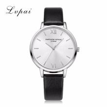 Luxury Brand Silver Women Fashion Dress Quartz Watch Clock Wristwatches Bracelet Watch Leather High Quality Ladies Quartz Watch(China)