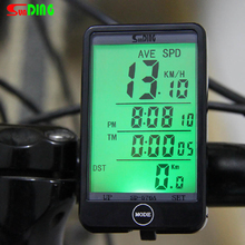 Sunding 27 in 1 LCD Bicicleta Bicycle Computer Wired Bike Computer Speedometer Odometer Big Display Backlight Cycling Computer