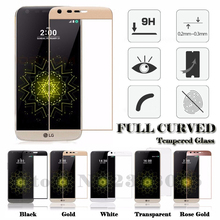 High Quality 3D Full Cover Curved Tempered Glass Screen Protector HD Protective Film For LG G5 H850 VS987 H820 LS992 H830 US992