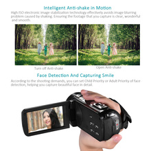 "NEW Digital Video Camera Full HD 1080P Portable Camcorders DV 3.0"" Rotating LCD 16x Zoom 24MP Anti-shake Camcorder"