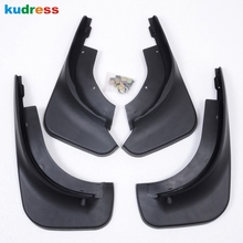 For Volkswagen VW Touareg 2005-2009 Black Mud Flaps Splash Guard Mudguard Mudflaps Fenders Auto Parts 4pcs/set