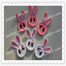 zakk fashion 2016 new arrival 12 pic/lot cotton knitted patches for clothes decoration garment ornament  flower applique felt