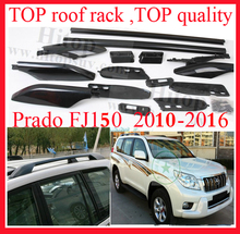 "Top roof rack/roof rail for TOYOTA Land Cruiser PRADO 2010-2016 KZJ150 FJ 150 UZJ150 LC 150,ISO TOP quality,""powerful"" genuine"