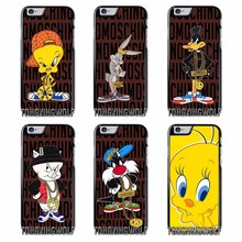 Bug Bunny Tweety Bird Loony Tunes Cover Case For Iphone 4 4s 5 5c 5s se 6 6s 7 8 plus x xiaomi redmi note oneplus 3 3T 4X 3s(China)