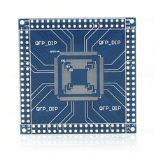 New QFP/TQFP/LQFP 32/44/48/64/100/144 pin to DIP Pin Board Adapter Converter Module -Y103