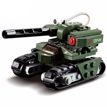 103pcs Building Block Red Alert 3 Hammer Tank Soviet Military Tank Compatible with Leading Bricks Toy Christmas gift(China)