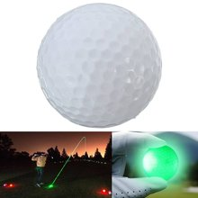 Golf Ball Bright Flash LED Electronic Flashing For Night Exercise - great gift for golfer, also good home decoration disco party