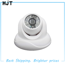 AHD HD 720P 1.0MP Video Camera White Plastic Dome Camera CCTV security Intdoor 24IR Night Vision